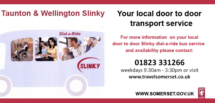 Taunton and Wellington Slinky